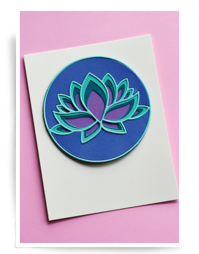 Birch Press Designs - Lotus Flower Layer Set