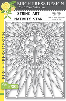 Birch Press Design - String Art Nativity Star