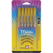 Gelly Roll Pens - Gold - Set of 6