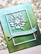 Birch Press Design - Mini Snowflake Frame Layer Set