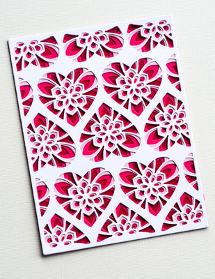 Birch Press Design - Dies - Kinsley Heart Plate Layer Set