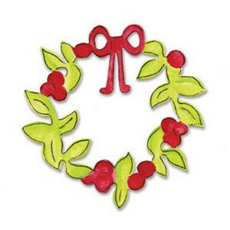 Sizzix Originals Die - Wreath, Christmas
