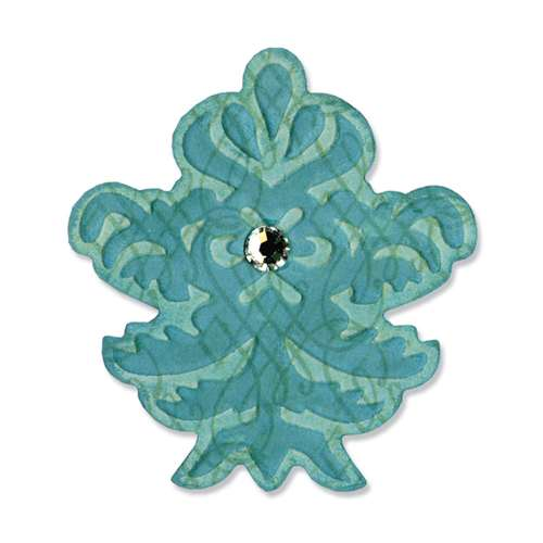 Sizzix Embosslits Die - Decorative Finial