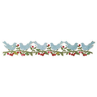 Sizzix Sizzlits Decorative Strip Die - Bower Birds by Brenda Walton