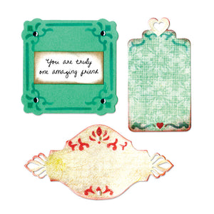 Sizzix Thinlits Die Set 3PK - Ornate Labels