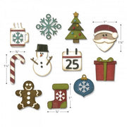 Sizzix - Sizzlits - Tim Holtz - Mini Christmas Things