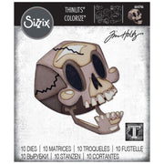 Sizzix - Thinlits by Tim Holtz - Skelly Colorize (ships mid-september)