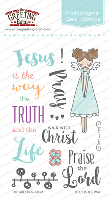 The Greeting Farm - Clear Stamps - Jesus is the Way (Ships Nov 18)
