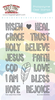The Greeting Farm - Clear Stamps - Blessed Words (Ships Nov 18)
