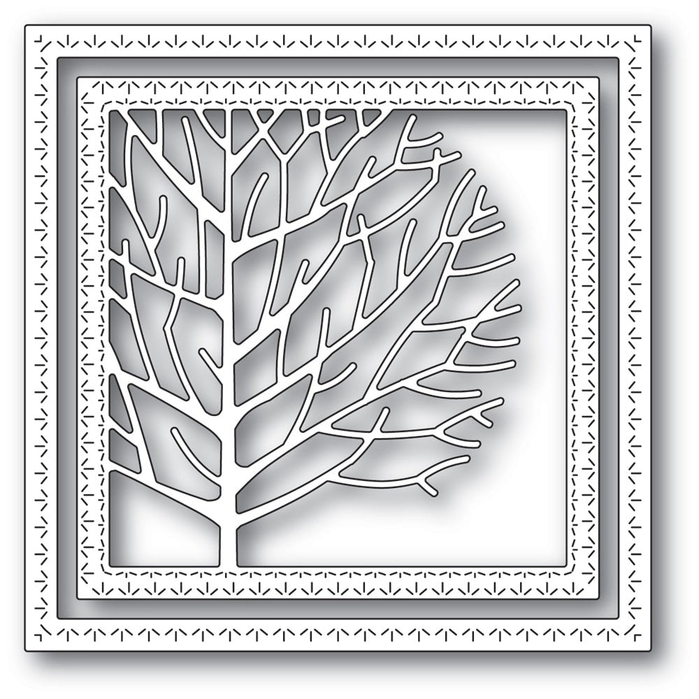 Memory Box - Dies - Winter Tree Frame