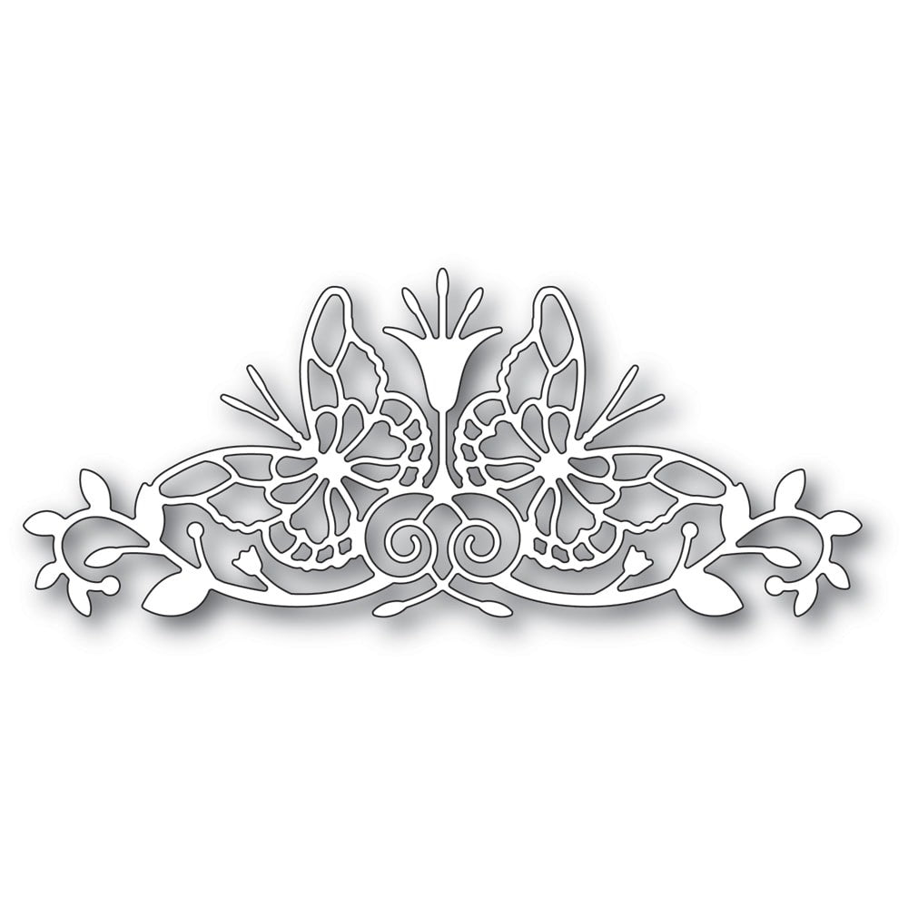 Memory Box - Dies - Sofia Butterfly Border