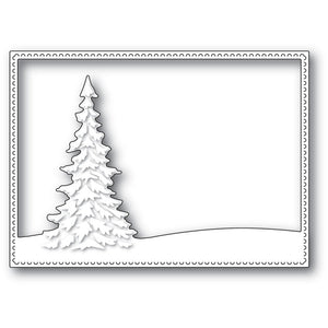 Memory Box - Dies - Single Pine Landscape Frame