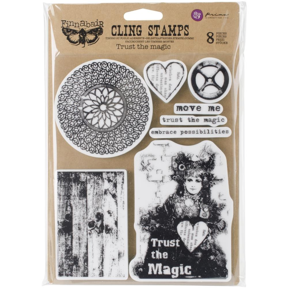 Finnabair - Cling Stamp - Trust The Magic