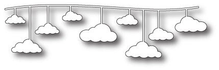 Memory Box - Dies - Hanging Cloud Border