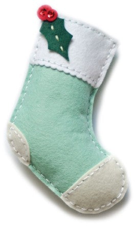 Memory Box - Dies - Plush Holly Stocking