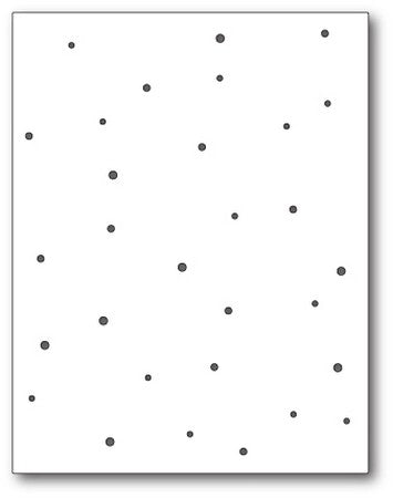 Memory Box - Dies - Speckled Background