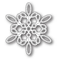 Memory Box - Dies - Purslane Snowflake Outline
