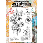 AALL & Create - Stamps - Blooming Poppies #265