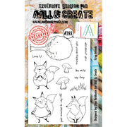 AALL & Create - Stamps - Foxy Friends #288