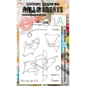 AALL & Create - Stamps - Squeaky Friends #290