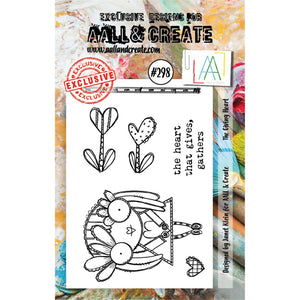 AALL & Create - Stamps - The Giving Heart #298