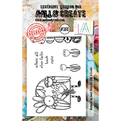 AALL & Create - Stamps - Look Cute #300