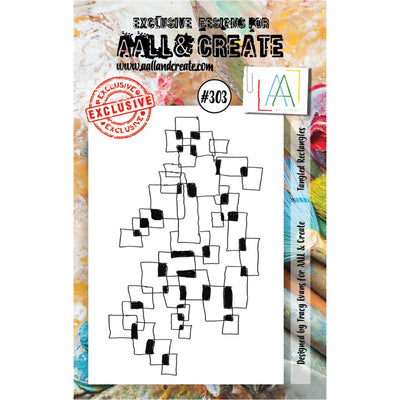 AALL & Create - Stamps - Tangled Rectangles #303