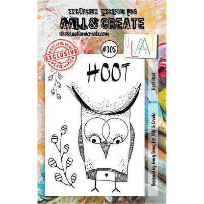 AALL & Create - Stamps - Hoot Hoot #305