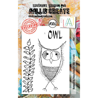 AALL & Create - Stamps - Owl #306