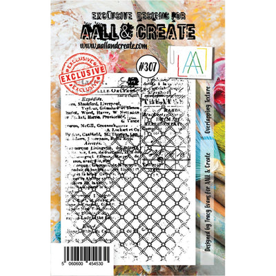 AALL & Create - Stamps - Overlaping Texture #307