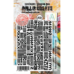AALL & Create - Stamps - Mini Tribal #312
