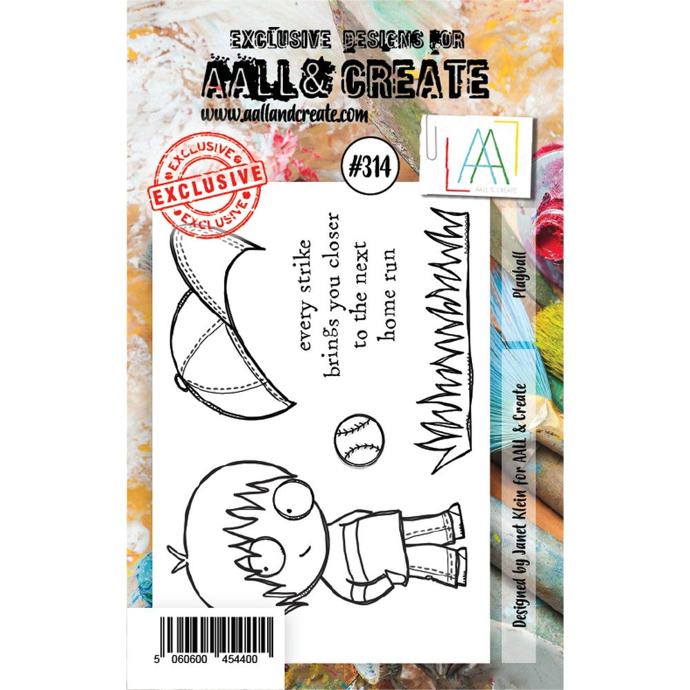 AALL & Create - Stamps - Playball #314