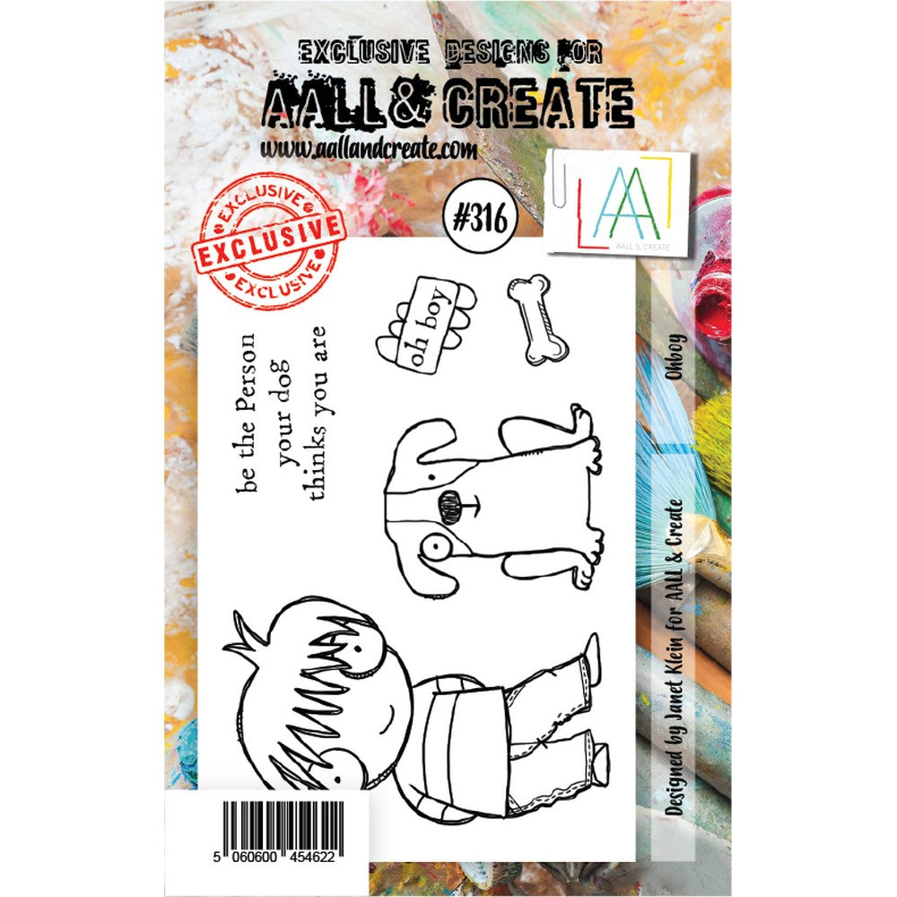 AALL & Create - Stamps - Ohboy #316