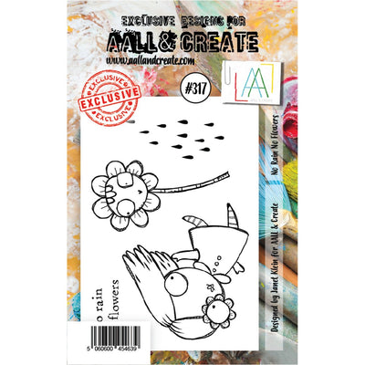 AALL & Create - Stamps - No Rain No Flowers #317