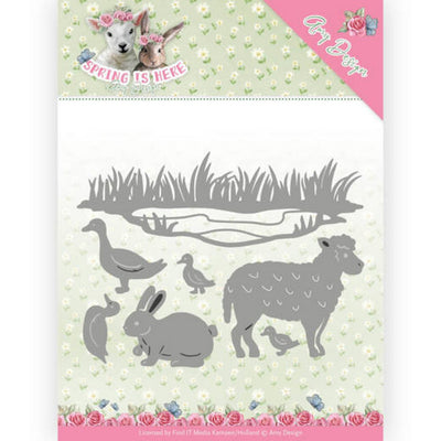 Amy Design - Dies - Spring Is Here - Spring Animals