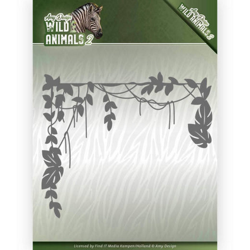 Amy Design - Dies - Wild Animals 2 - Jungle Branch