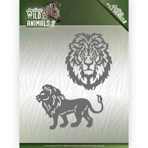 Amy Design - Dies - Wild Animals 2 - Lion