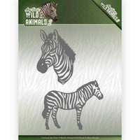 Amy Design - Dies - Wild Animals 2 - Zebra