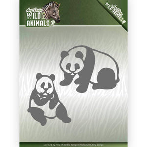 Amy Design - Dies - Wild Animals 2 - Panda Bear