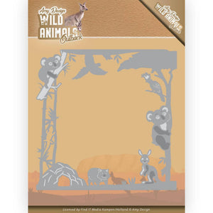 Amy Design - Dies - Wild Animals Outback - Koala Frame