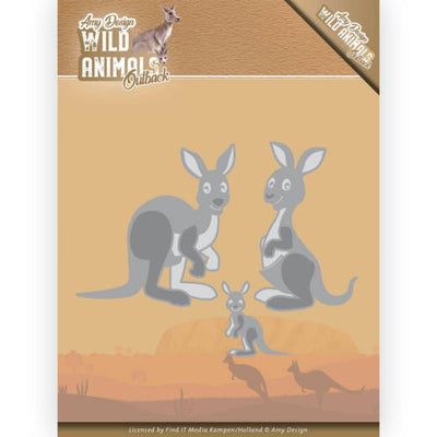 Amy Design - Dies - Wild Animals Outback - Kangaroo