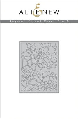 Altenew - Dies - Layered Floral Cover A