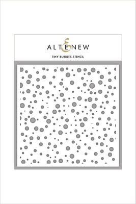 Altenew - Stencils - Tiny Bubbles