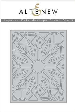 Altenew - Dies - Layered Kaleidoscope Cover A