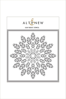 Altenew - Stencils - Leaf Burst