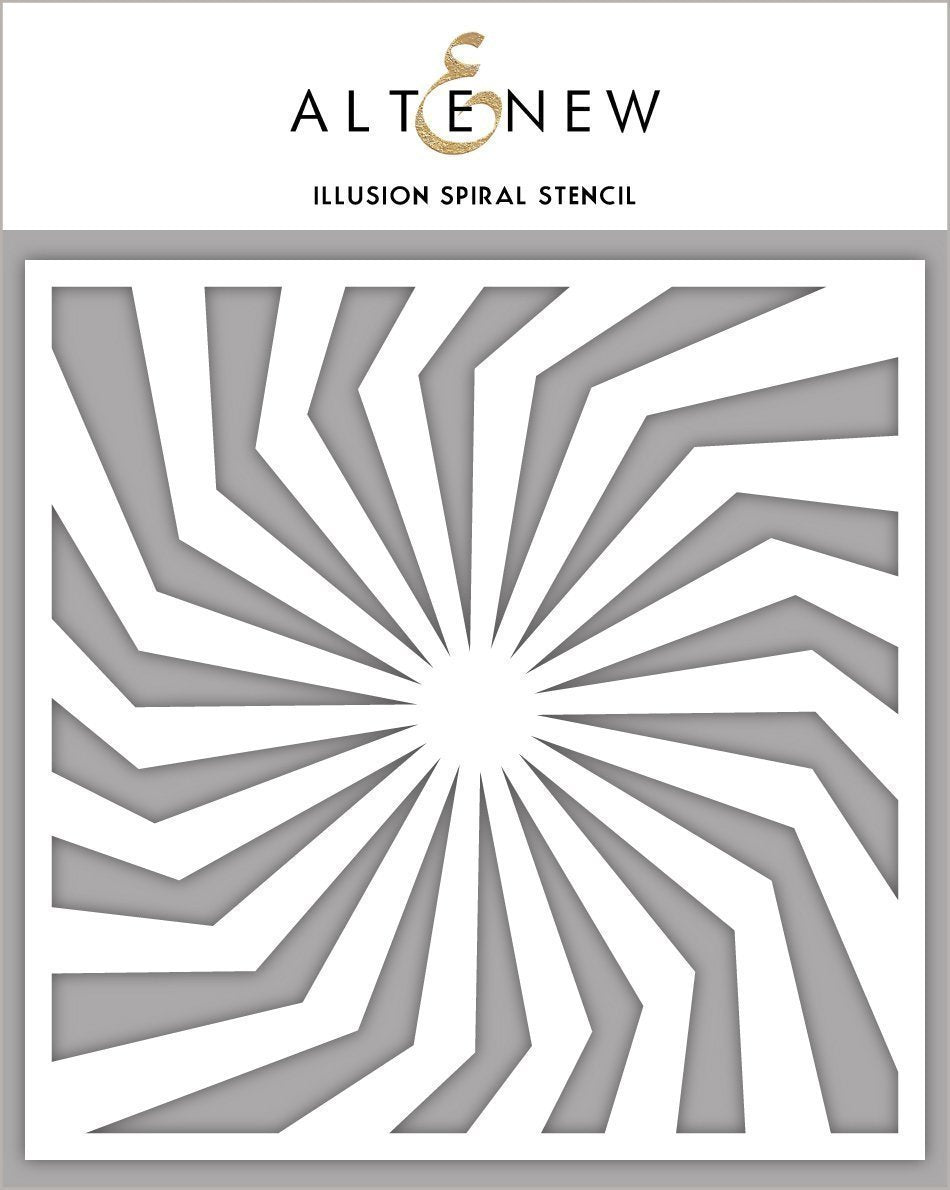 Altenew - Stencils - Illusion Spiral