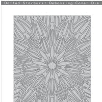 Altenew - Dies - Dotted Starburst Debossing Cover