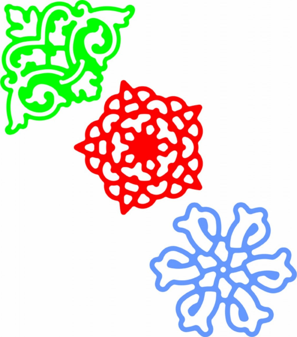 Cheery Lynn Designs - Lace Corner Deco D