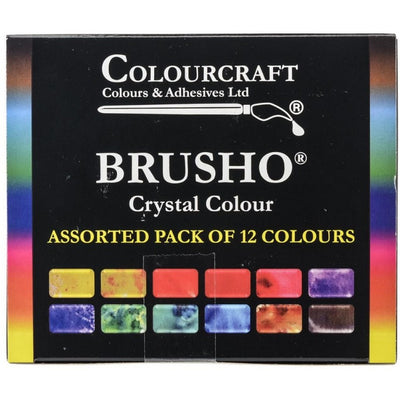 Brusho Inks - 12 Color Set (ships around June 15)