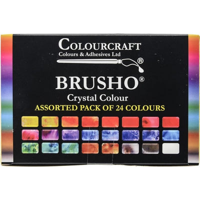 Brusho Inks - 24 Color Set